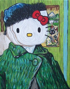 Hello Kitty/Vincent Van Gogh